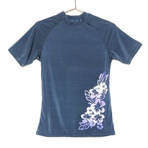 Kanu Surf • Hawaiian Flower Swim Rashguard
